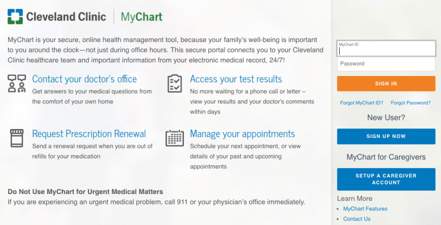 cleveland-clinic-my-chart