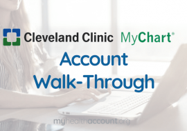 Cleveland Clinic My Chart — Account Walkthrough